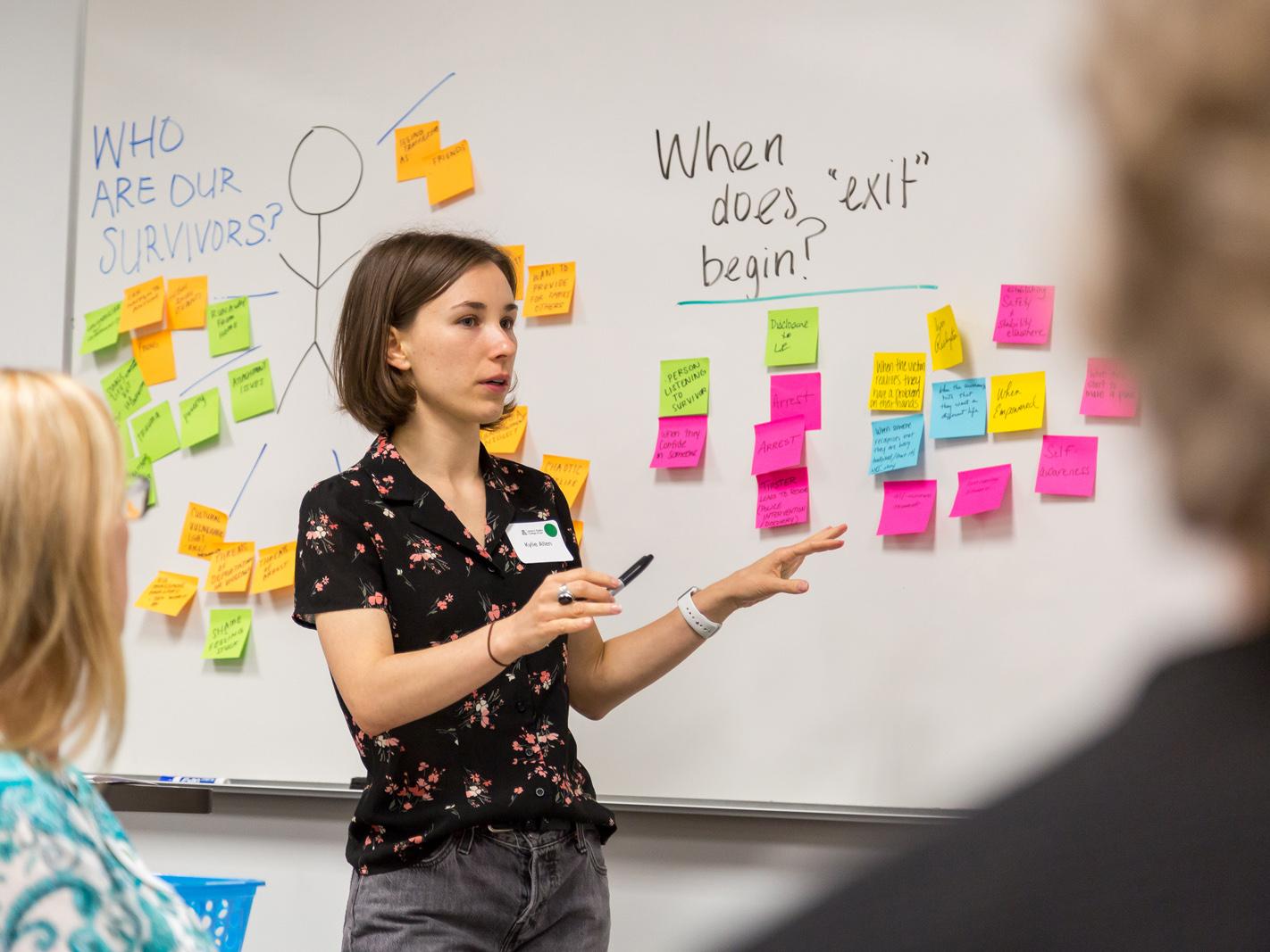 Innovation for Justice workshop