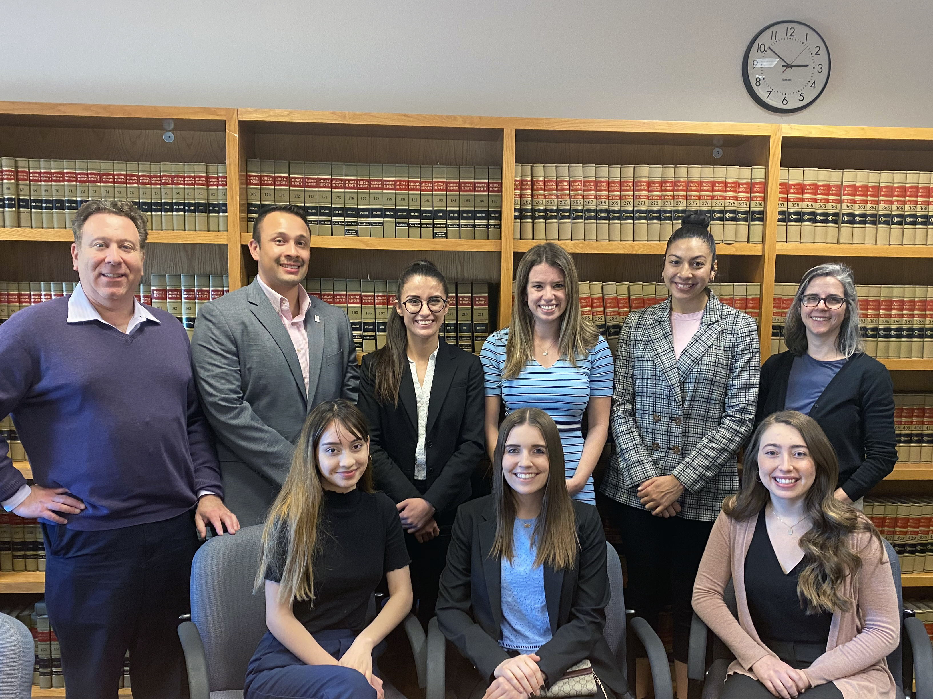 BA in Law Clinic students and professors