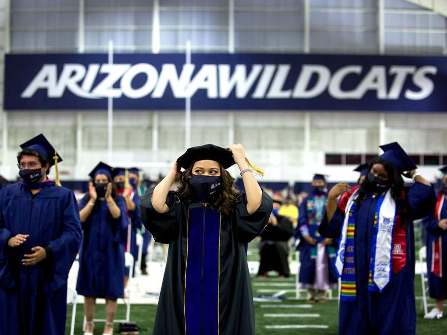 2021 graduates at Arizona Law commencement
