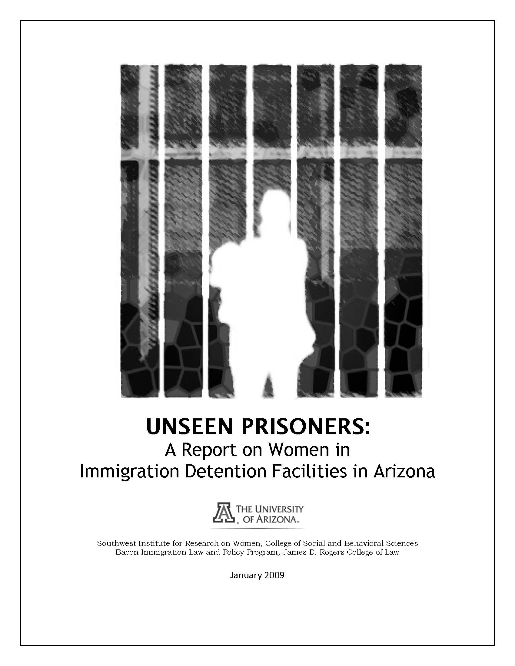 Cover of Unseen Prisoners report