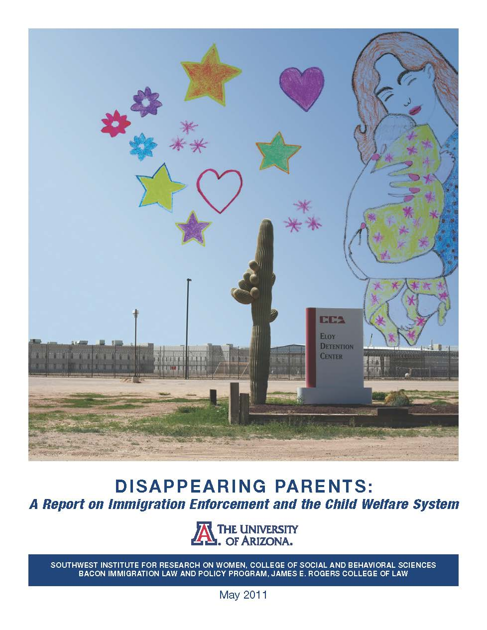 Cover of Disappearing Parents report