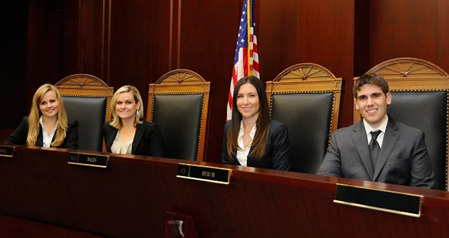 University of Arizona Law students who have secured judicial clerkships