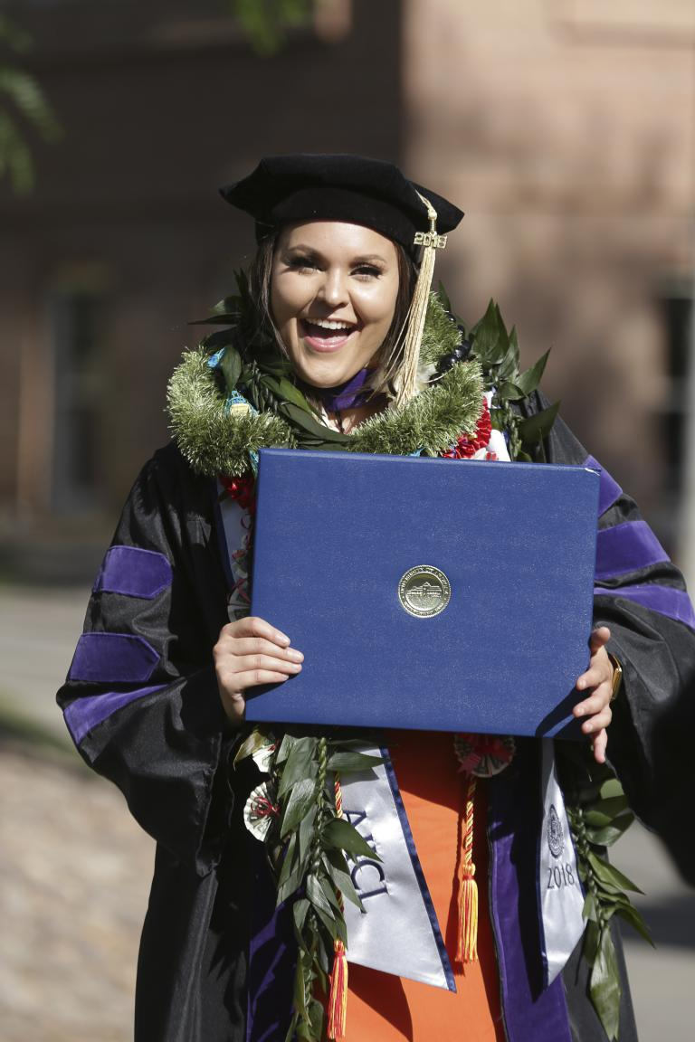 University of Arizona Law 2018 Convocation Graduate