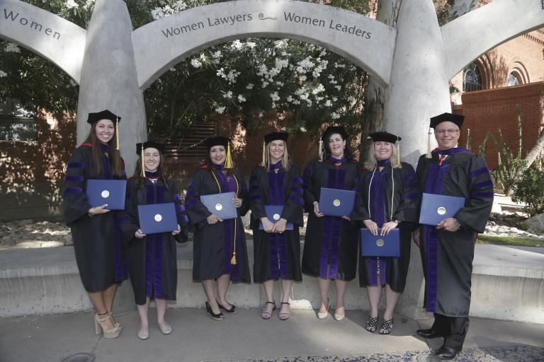 University of Arizona Law 2018 Convocation Graduates