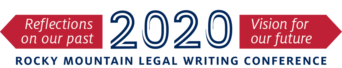 20th Annual Rocky Mountain Regional Legal Writing Conference logo