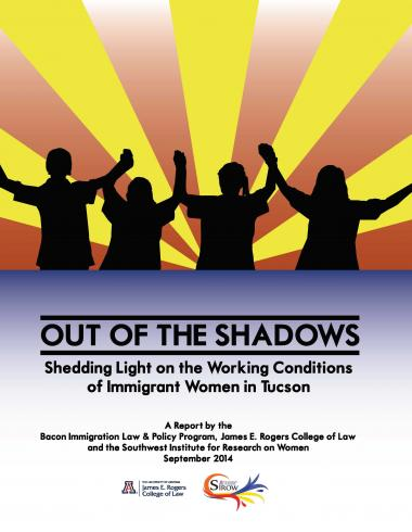 Cover of Out of the Shadows report