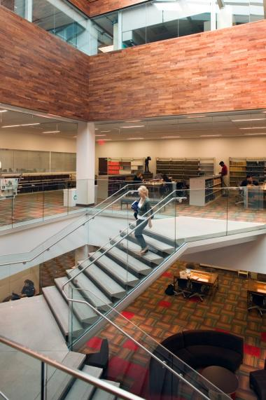 Arizona Law Library Staircase