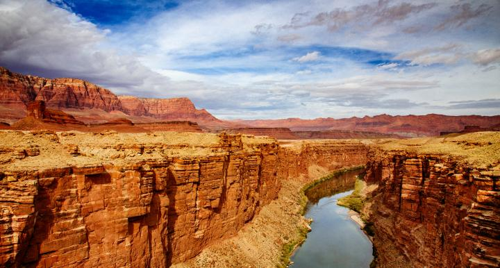 Colorado River in the Marble Canyon